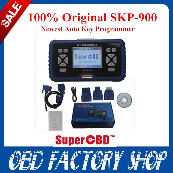 Promotion DHL free 2014 newest V2.7 100% Original SuperOBD SKP-900 SKP 900 Key Programmer for Almost All Cars SKP900 Free Update(China (Mainland))