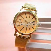 B020--New Arrival Classic Women Dress Watch Rose Golden Belt Quartz Watch Ladies' hour free shipping