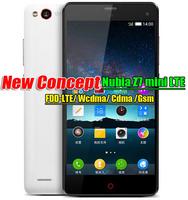 "ZTE Nubia Z7 mini lte 4G FDD smart phone Qualcomm MSM8974AA 2.0GHz 5.0"" FHD 1920x1080 2GB RAM 16GB 13.0MP Camera  Multi-language"