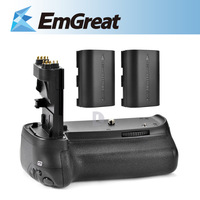 Meike Battery Grip Handy Pack for Canon 70D Battery Grip BG-E14 DSLR + 2x Rechargeable Li-Ion Battery LP-E6 P0009439