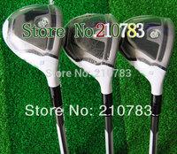 Men.s  Golf Clubs R.B.Z golf Hybrids wood 19.22.25 loft (3pcs)graphite/steel shaft clubs plus Headcovers/ Free Shipping