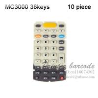 Rubber Keypad for Symbol MC3000 MC3070 MC3090 38 Keys Keypad 10pcs/lots free shipping