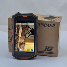 Hummer H5 IP68 dustproof waterproof Android4.0 WCDMA 3G Smart Phone Shockproof GPS 4inch sreen outdoor mobile phone(China (Mainland))