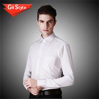 2015 autumn brand new men fashion long sleeve cotton slim casual shirt men shirts mens color wholesale top quality for men
