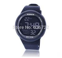 FREE SHIPPING Brand Xonix Mens sports watches waterproof 100m LED light Multi Function swimming watch