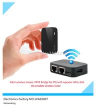 Brand Original NEXX Mini wifi router Portable wall wifi repeater AP Mobile storage u disk Wifi Bridge for PC,laptop#A02007(China (Mainland))