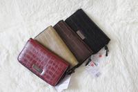 Man mango vintage purse mango stone pattern card holder day clutch mango long design wallet