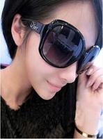 D star style fashion sunglasses female sunglasses big box large anti-uv sunglasses sun glasses