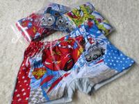 Free Shipping 3Pcs/Lot Baby Boys 100%Cotton Underwears Kids Children Cartoon Briefs Kids Cute Panties