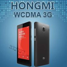 Original Xiaomi Red Rice Hongmi Mobile Phone Android 4.2 MTK6589T Quad Core 4.7″ IPS 8MP Dual Sim GPS WIFI WCDMA 3G Phone