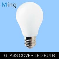 New design 3W / 5W glass cover E27 base wide beam angle LED globe bulb with original SMD 2835 LED for home lighting 4pcs/lot