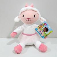Free Shipping Doc McStuffins toys plush McStuffins Lambie sheep 30cm cute plush stuffed animals doll kids toys dolls for girls
