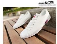 New Arrivals Ocean Blue  Flat Convas Shoes Women's Fashion  Candy Color   Sneaker  Shoes  Sweet   Sport   Shoes   Single   Shoes