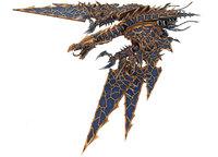 Chaos Space Marine Heldrake Tyranid Hunters Resin Model Top Quality