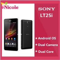 LT25i Sony Xperia V LT25 original unlocked Android mobile phone WIFI GPS 4.3'' 13MP 8GB internal memory Refurbished FreeShipping