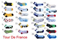 Free shipping 4pair/lot  New 2014  Mountain bike socks cycling sport socks Road bicycle socks Coolmax Material top quality