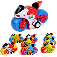 8PCS set  child RC motorcycle Inertia electric motorcycle child remote control toys set child electric toys set TY27