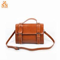 Latest Classic Brand Design Handbag,High End Imported Oil Leather Shoulder Bag,Retro Flip Messenger Bag,Bolsas de Ombro B129
