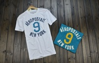 Free shipping!!!!!The 2014 summer men's T-shirt Aeropostale male applique stitch T-shirt short-sleeve shirt