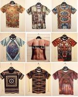 Throwback Palace Printing 3D Printed Tshirt Men Sexy Naked Women Printing