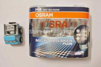 Free shipping fee!! Car headlight OSRAM halogen lamp NIGHT BREAKER PLUS 64193NBP H4 60/55W 12V 3700K Made In Germany
