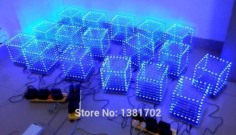 Cube 8x8x8 Letoo 3d8 Cube8 8x8x8 Led Cube