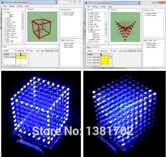 Cube 8x8x8 Cube8 8x8x8 Led Cube Diy
