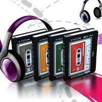 4 colors 2014  korea stationery cassette tsmip small fresh notebooks  for school