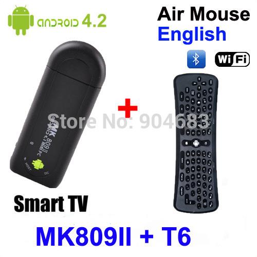 Мини ПК Winnervision MK809II Android /bluetooth RK3066 1.6 A9 1 8 + T6 MK809II+T6 аксессуар moon mk ii