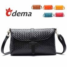 wholesale black leather clutch