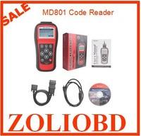 Autel MD801 Pro 4 in 1 code scanner(JP701 + EU702 + US703 + FR704) MaxiDiag PRO MD 801 Code Reader Multi-Functional DHL free