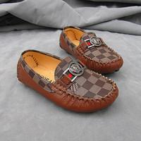 2014 fashion casual autumn pu leather boy children shoes
