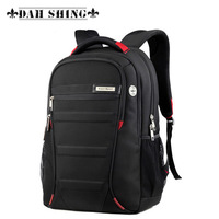 "Fashion Large capacity waterproof Black laptop backpack for 16"" laptop 18-20inches"