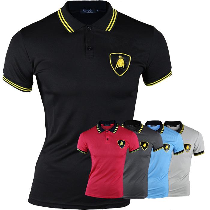 Free shipping high quality men's Bulls logo t-shirt, Slim Fit Stylish short-Sleeve cotton Shirt, 3 color,Size M-XXL(China (Mainland))