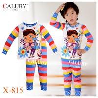 Boys Snowman Olaf Pajamas Sets Kids Autumn -Summer Clothing Set New 2014 Wholesale Children Cartoon Frozen Pyjamas X-460