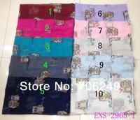 Free shipping,2014 new Spring scarf, owl design,beach shawl,ladies printed shawl,muslim hijab,big size shawl