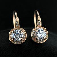 2015 Romantic Women Rhinestone Zinc Alloy Star Special Offer Promotion Sterling Jewelry Cuff Brincos 18k Clip Earrings