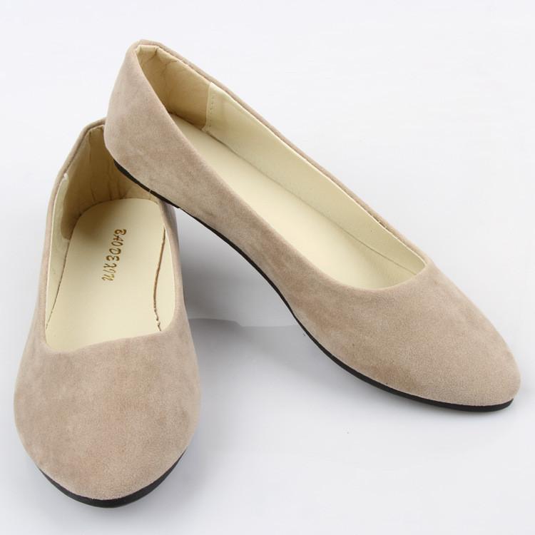 Fashion women shoes solid candy color patent PU shoe