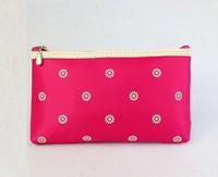 1PC Korean Fashion Printed Flower Zipper Makeup Bag Outdoor Hanging Wash Travel Storage Cosmetic Sorting Bags Free&Drop Shipping
