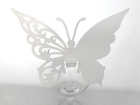 150 Wedding Party Laser Die Cut Table Paper Place Cards more color BUTTERFLY Decoration Decorative Wedding Decoration Favors