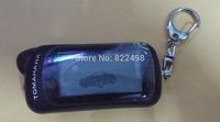 Free Shipping 2 way car alarm TOMAHAWK Z5 LCD remote controller Two way car alarm system TOMAHAWK Z5 Keychain
