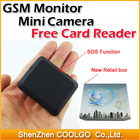 2014 Upgrade Edition X009 Mini Camera GSM Monitor Video Recorder Quad Band SIM Card GSM 850/900/1800/1900MHz Hidden Camcorders(China (Mainland))
