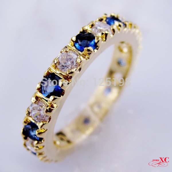 Кольцо Rings & AAA anel 14KT 8 R8B0621