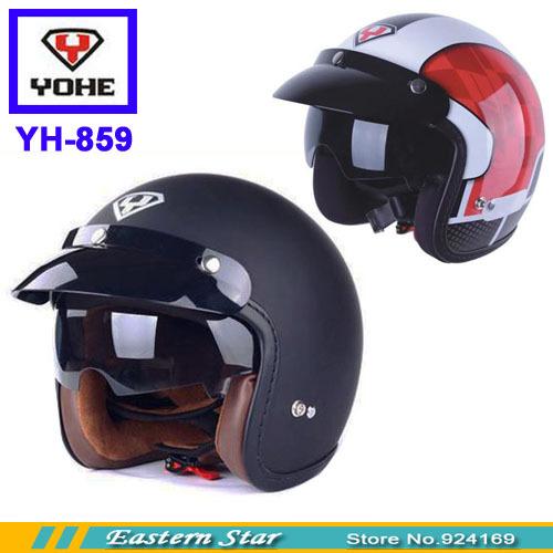 Half face helmet Motorcross Racing Helmets Yohe helmet motorcycle helmet yh-859 ABS(China (Mainland))