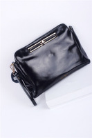 2014 Woman's Genuine Leather Day Clutches Fashion Clutch Bag Woman's Messenger Bag Leather Clutch Bag Clutches Free Shipping