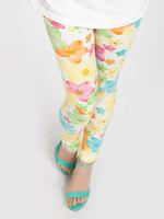 Wholesale  Free shipping Children clothing 2014 New pants milk silk extreme skin-friendly colorful pants children leggings girls