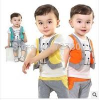 free shipping new 2014 summer boys casual false vest pant clothing sets 2pcs boys clothes sets kids apparel kids vest