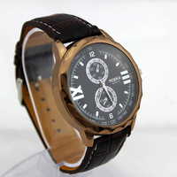 New Brand Men Sports Watches Men's Military Watches Quartz Business Watch  Men Wristwatches Leather Strap Watches Analog