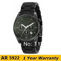 Original Watches AR5922 Luxury Brand Fashion Men's Quartz Watch Round Full Steel Men Analog Watch + Original Box 5922 Wholesale