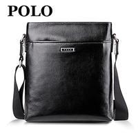 Polo cross-body bag men commercial genuine leather man bag fashion first layer of cowhide shoulder bag messenger bag bag